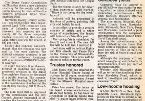 Columbia Daily Tribune Article County Picks Abstract co - 1990